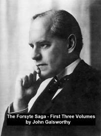 Cover Forsyte Saga First Three Volumes