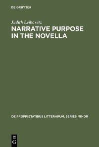 Cover Narrative Purpose in the Novella