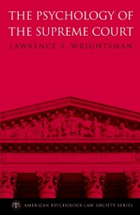 Cover Psychology of the Supreme Court