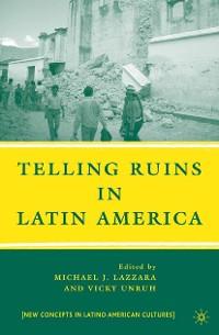 Cover Telling Ruins in Latin America