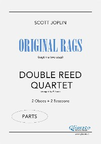 Cover Original Rags - Double Reed Quartet (parts)