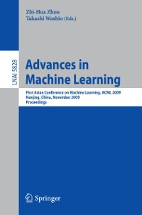 Cover Advances in Machine Learning