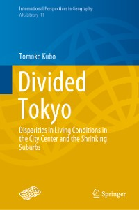 Cover Divided Tokyo