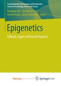 Cover Epigenetics