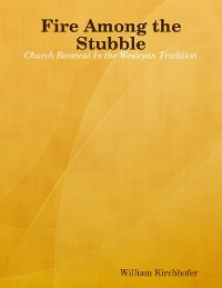 Cover Fire Among the Stubble: Church Renewal In the Wesleyan Tradition