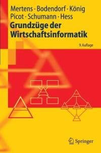 Cover Grundzuge der Wirtschaftsinformatik