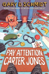 Cover Pay Attention, Carter Jones