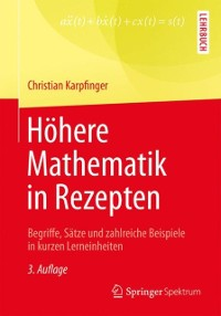Cover Hohere Mathematik in Rezepten