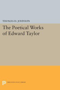 Cover The Poetical Works of Edward Taylor