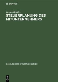 Cover Steuerplanung des Mitunternehmers