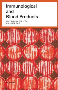 Cover Immunological and Blood Products