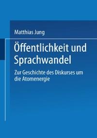 Cover Offentlichkeit und Sprachwandel