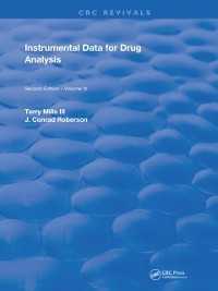 Cover Instrumental Data for Drug Analysis, Second Edition