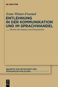 Cover Entlehnung in der Kommunikation und im Sprachwandel