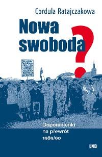 Cover Nowa swoboda?
