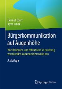 Cover Bürgerkommunikation auf Augenhöhe