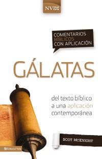 Cover Comentario biblico con aplicacion NVI Galatas