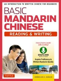 Cover Basic Mandarin Chinese - Reading & Writing Textbook