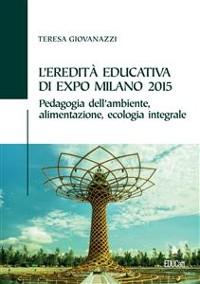 Cover L'eredità educativa di expo milano 2015