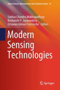 Cover Modern Sensing Technologies