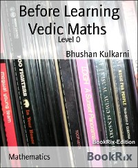 Cover Before Learning Vedic Maths
