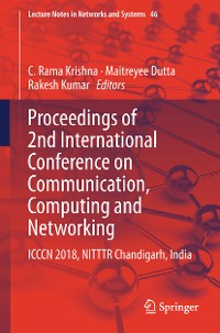Cover Proceedings of 2nd International Conference on Communication, Computing and Networking