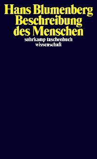 Cover Beschreibung des Menschen