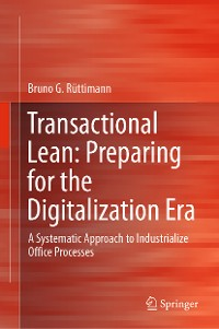 Cover Transactional Lean: Preparing for the Digitalization Era