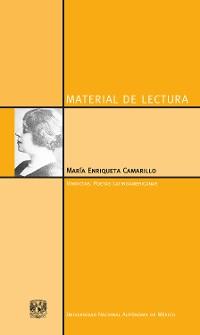 Cover María Enriqueta Camarillo