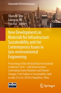 Cover New Developments in Materials for Infrastructure Sustainability and the Contemporary Issues in Geo-environmental Engineering
