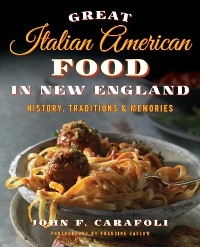 Cover Great Italian American Food in New England