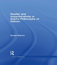 Cover Reality and Impenetrability in Kant's Philosophy of Nature