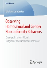 Cover Observing Homosexual and Gender Nonconformity Behaviors
