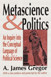 Cover Metascience and Politics