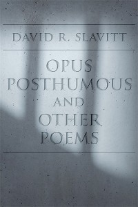 Cover Opus Posthumous and Other Poems