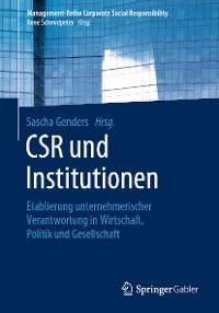 Cover CSR und Institutionen