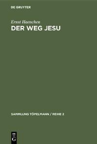 Cover Der Weg Jesu