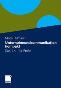 Cover Unternehmenskommunikation kompakt