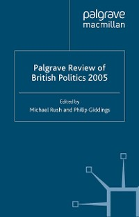Cover The Palgrave Review of British Politics 2005