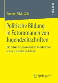 Cover Politische Bildung in Fotoromanen von Jugendzeitschriften