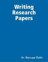 Cover Writing Research Papers