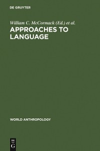 Cover Approaches to Language