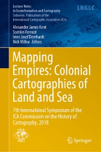 Cover Mapping Empires: Colonial Cartographies of Land and Sea