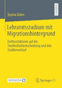 Cover Lehramtsstudium mit Migrationshintergrund