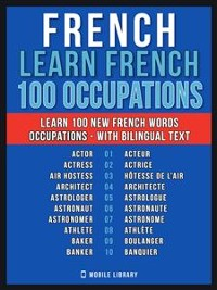 Cover French - Learn French - 100 Words - Occupations