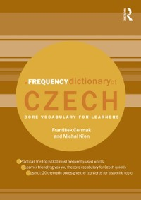 Cover Frequency Dictionary of Czech