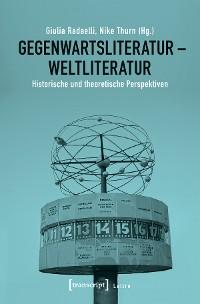 Cover Gegenwartsliteratur - Weltliteratur