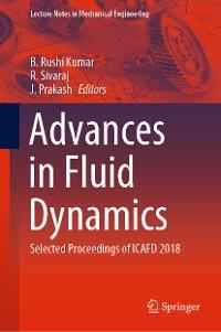 Cover Advances in Fluid Dynamics