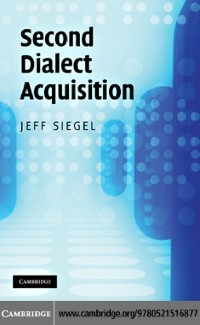 Cover Second Dialect Acquisition