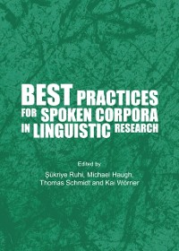 Cover Best Practices for Spoken Corpora in Linguistic Research